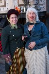 Steampunk Party Goers 1
