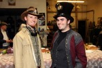 Steampunk Party Goers 5