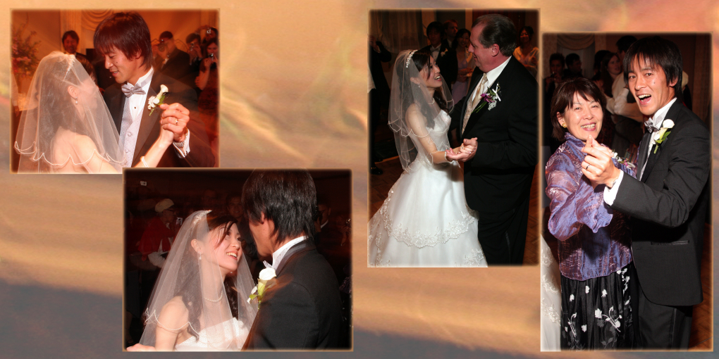 First Dance Parents Japanese Wedding Inside Dolce Hayes Mansion In San Jose