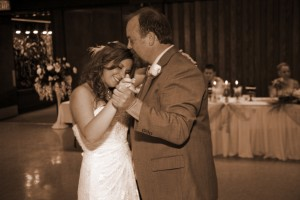 Father Daughter Dance in Sepia, wedding reception Heather Farms Walnut Creek CA