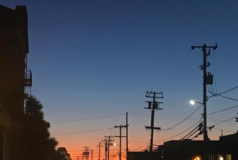 #nofilter #sunset #urban #urbansunset #mood